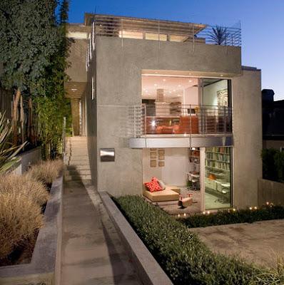 Casas de vidrio modernas