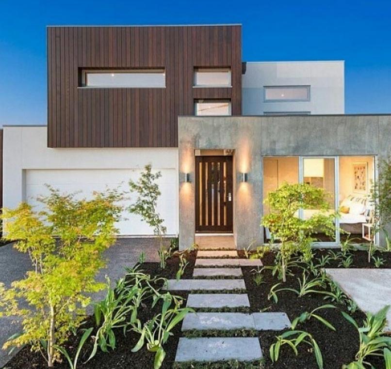 Frentes de casas rusticos for Fachada de casas modernas