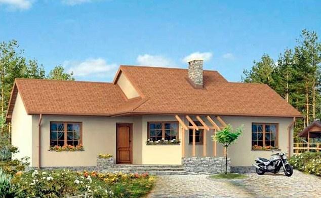 Fachadas de casas con piedra y pintura for Casas modernas revestidas en piedra