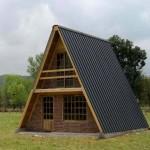 Fachadas de casas alpinas