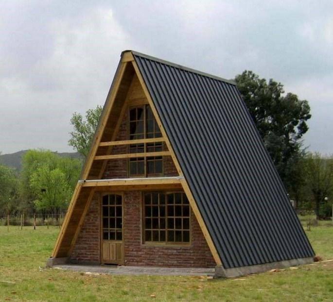 Fachadas de casas alpinas for Tipos de techos de casas