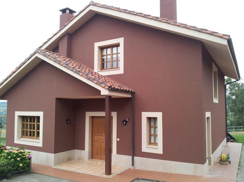 Materiales para frentes de casas part 4 for Colores para pintar fachadas de casas pequenas