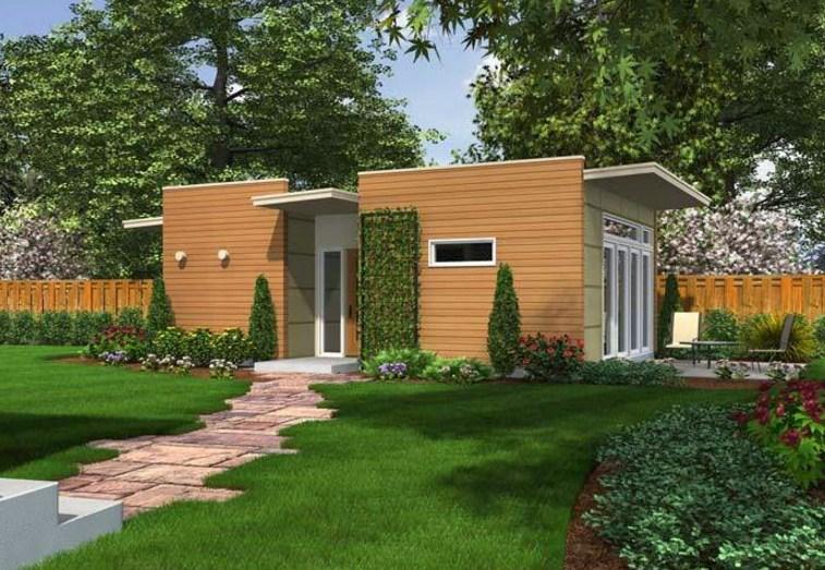 Fachadas de casas modernas part 12 for Casas pequenas de una planta modernas