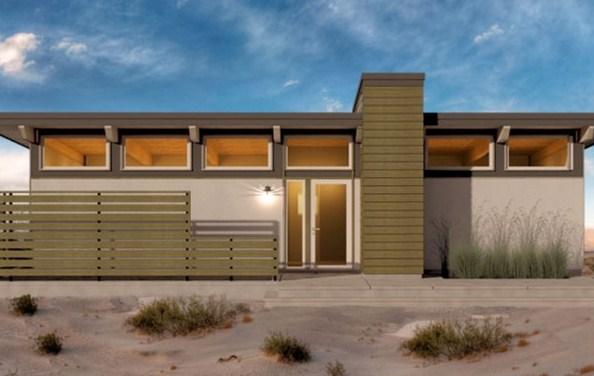 Fachadas de casas sencillas modernas