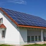 Casas con paneles solares