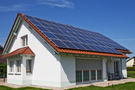 Fotos de casas con paneles solares