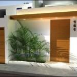 Puertas de madera para fachadas