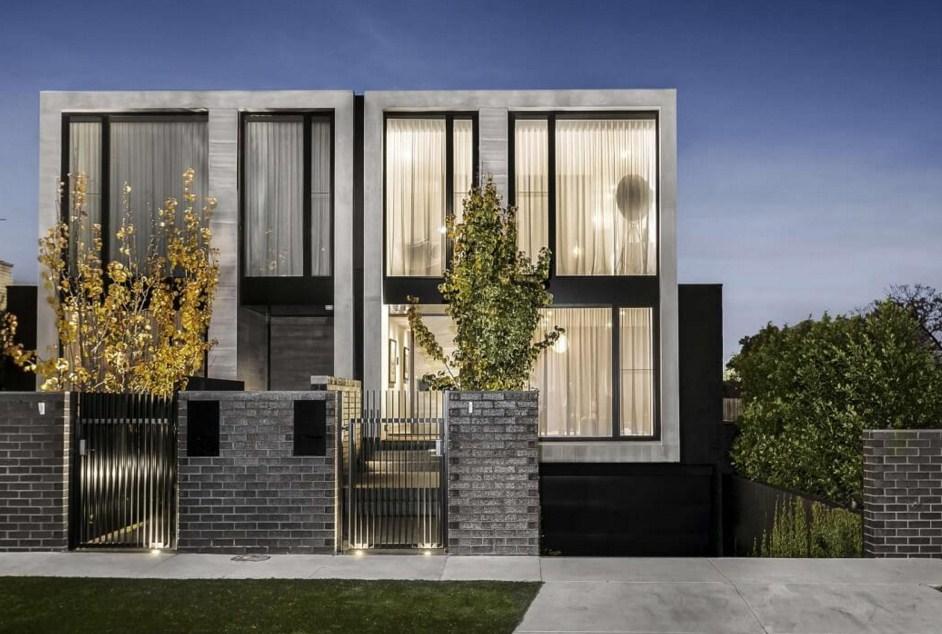 Diseños para fachadas de casas de estilo urbano