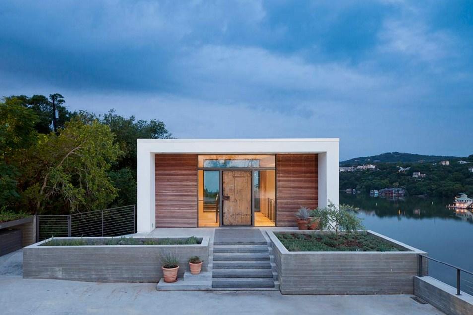 Diseños para fachadas de casas minimalistas