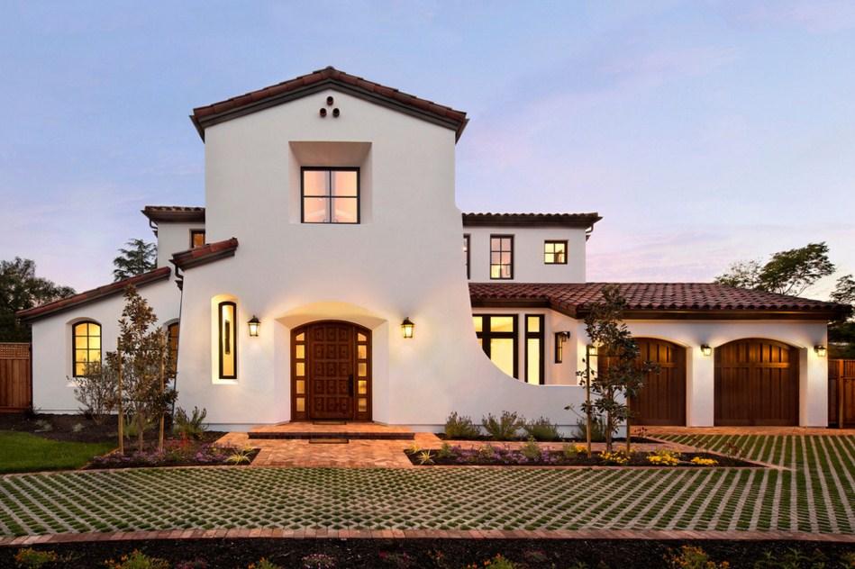 Fachadas de casas con estilo mediterraneo