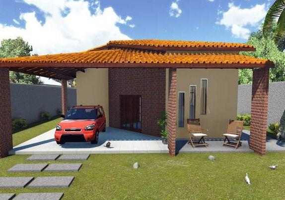 Fachadas de casas con una sola ventana al frente