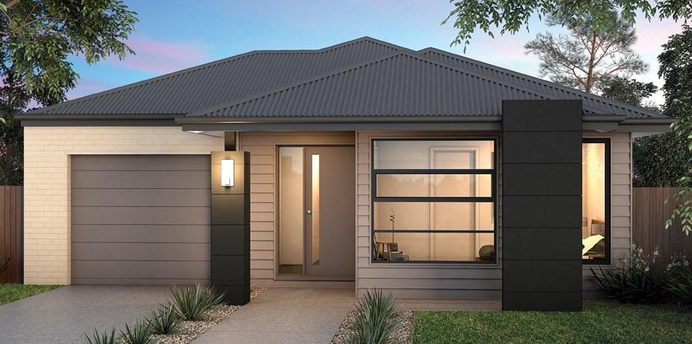 Fachadas de casas con techos a cuatro aguas for Casas modernas 4 aguas