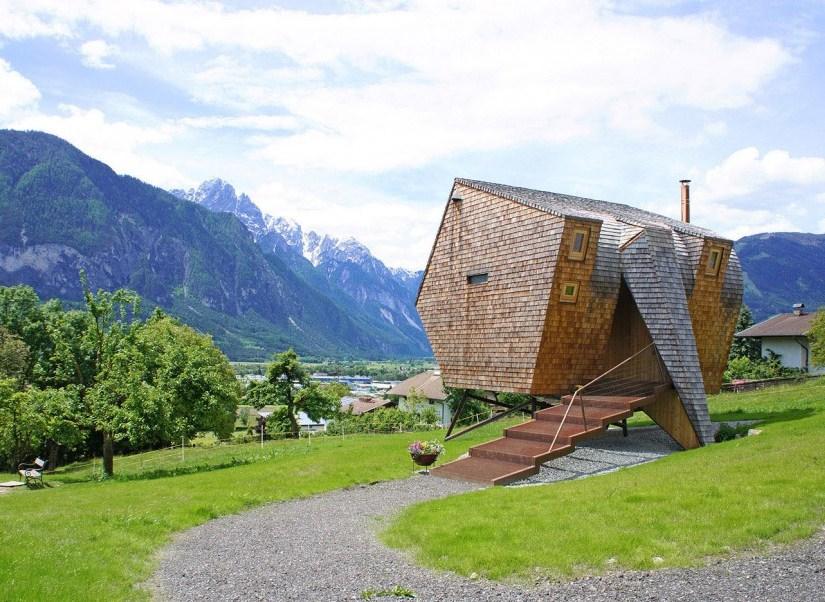 Fachadas de casas extrañas