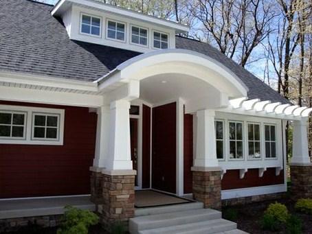 Fachadas de casas grandes clasicas