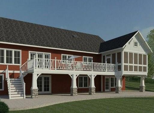 Fachadas de casas grandes de tres pisos