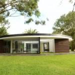 Fachadas de casas redondas