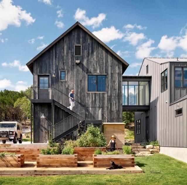 Fachadas de casas rusticas de dos pisos