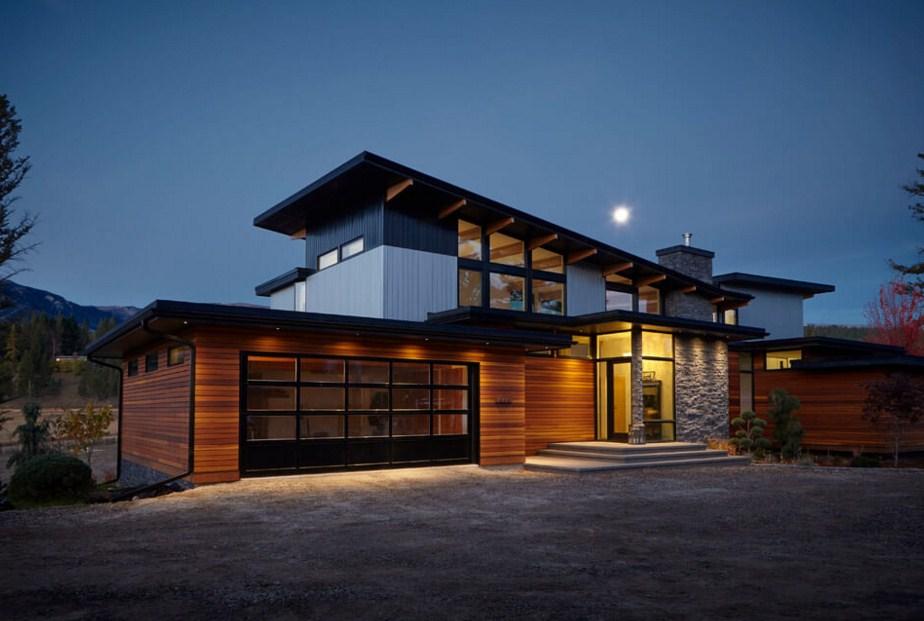fachadas de casas elegantes y modernas