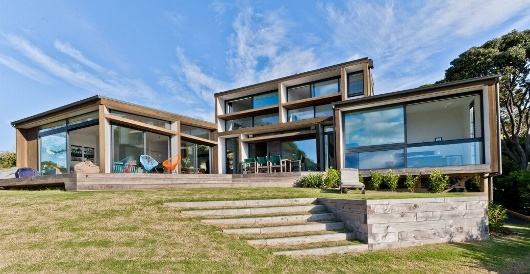 Fachadas de casas modernas for Fotos casas modernas
