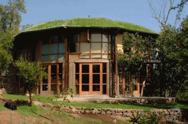 Photos of beautiful circular houses