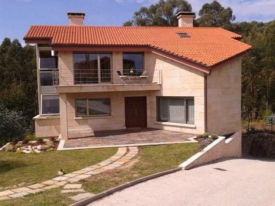 Fachadas de casas modernas con chimeneas - Chimeneas para casas de madera ...