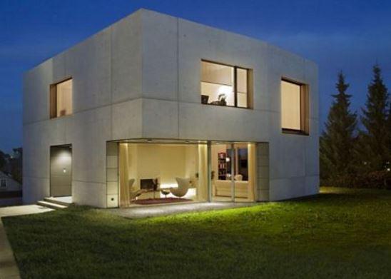 Casas minimalistas esquina