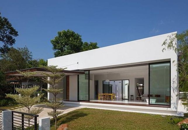 Casas minimalistas fachadas modernas for Modelos de casas minimalistas de dos plantas