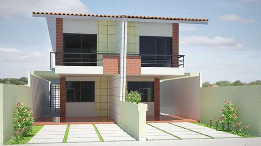 Fachada de duplex for Fachadas de casas de 5 metros de ancho
