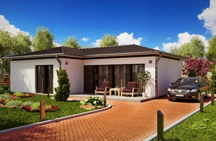 Fachadas bonitas y modernas - Modelos de casas de un piso bonitas ...