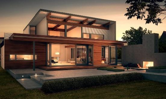 Fachadas de casas contemporaneas for Casas modernas fachadas de un piso