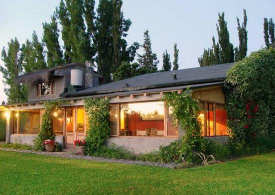 Fachadas de casas de campo con encanto