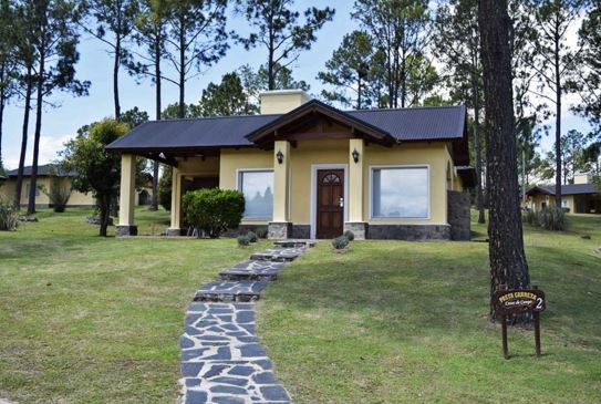 Fachadas de casas de campo modernas