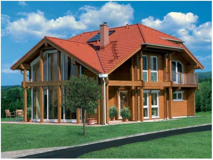 Fachadas de casas de madera part 2 - Chalet fotos ...