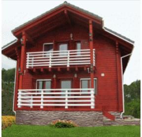casas con madera