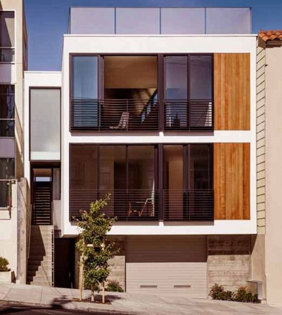 modern three story houses