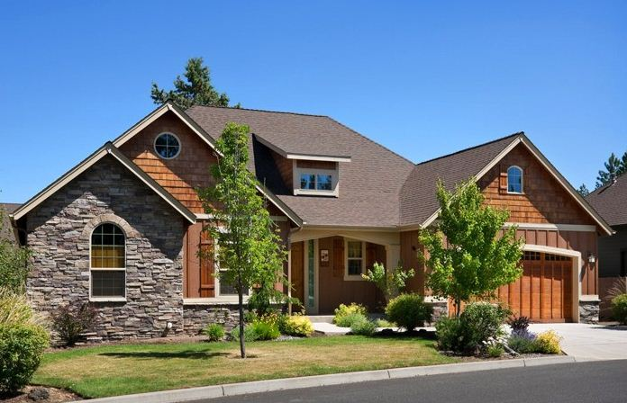 diseño de fachadas de casas clasicas con piedras