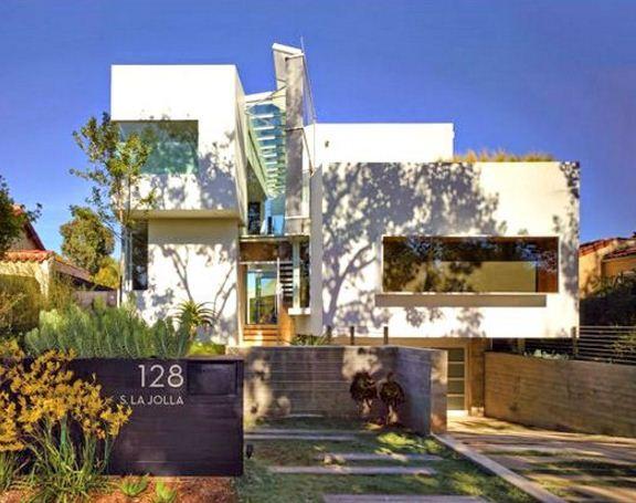 diseños de casas de tres pisos