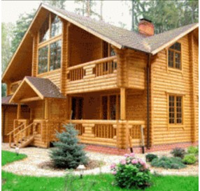 fachadas de casa de madera