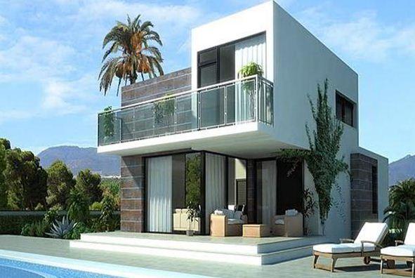Fachadas bonitas de casas de dos pisos for Fachadas casas de dos pisos pequenas