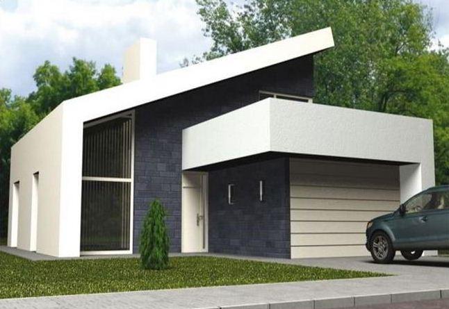 Fachadas bonitas de casas de dos pisos for Fachadas de casas modernas de 6 metros