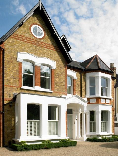 fachadas de casas lujosas bonitas