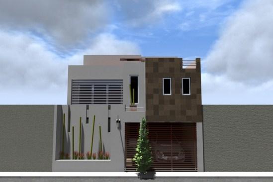 fachadas de casas modernas con parasoles
