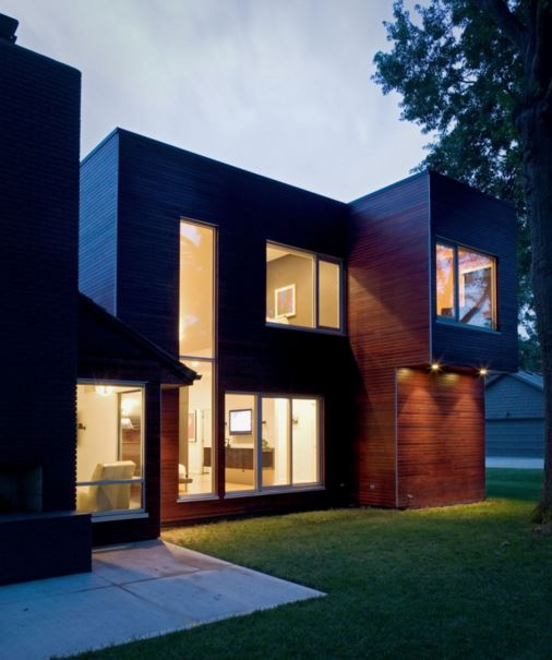 fachadas doble altura