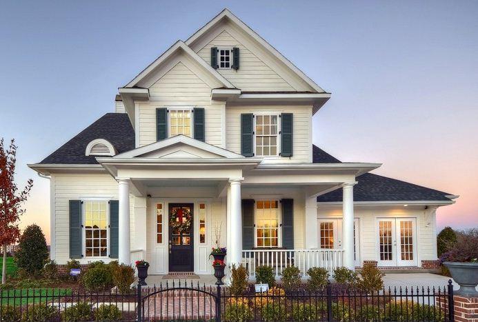 Fachadas de casas bonitas y sencillas - Fotos de casas preciosas ...