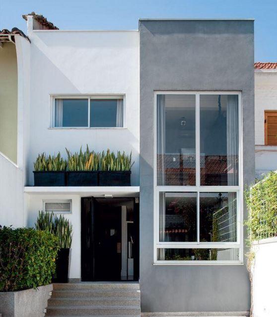 fotos de casas moderas de 2 pisos