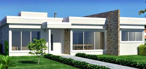 Materiales para frentes de casas part 2 for Frentes de casas modernas de dos pisos