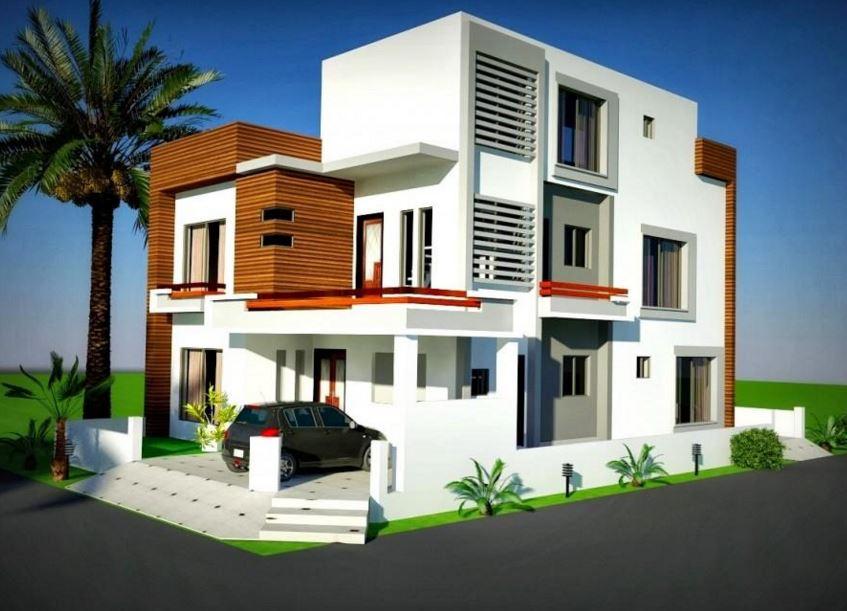 Esquinas casas gallery for Disenos de residencias modernas