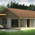 Fachadas de casas color marfil