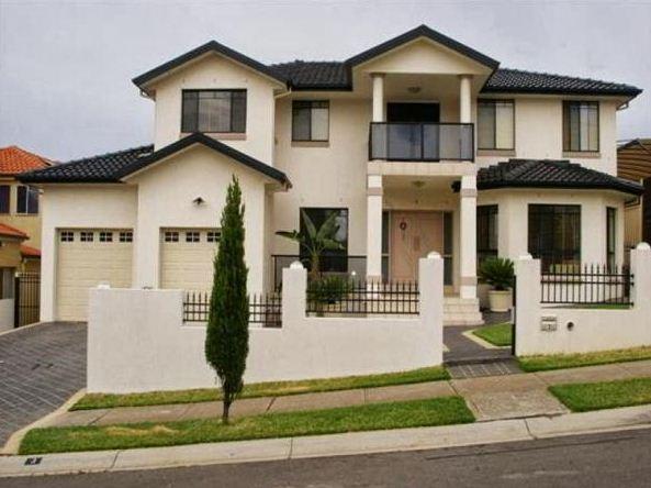 Fachadas de casas de dos pisos sencillas for Frentes de casas modernas de dos pisos