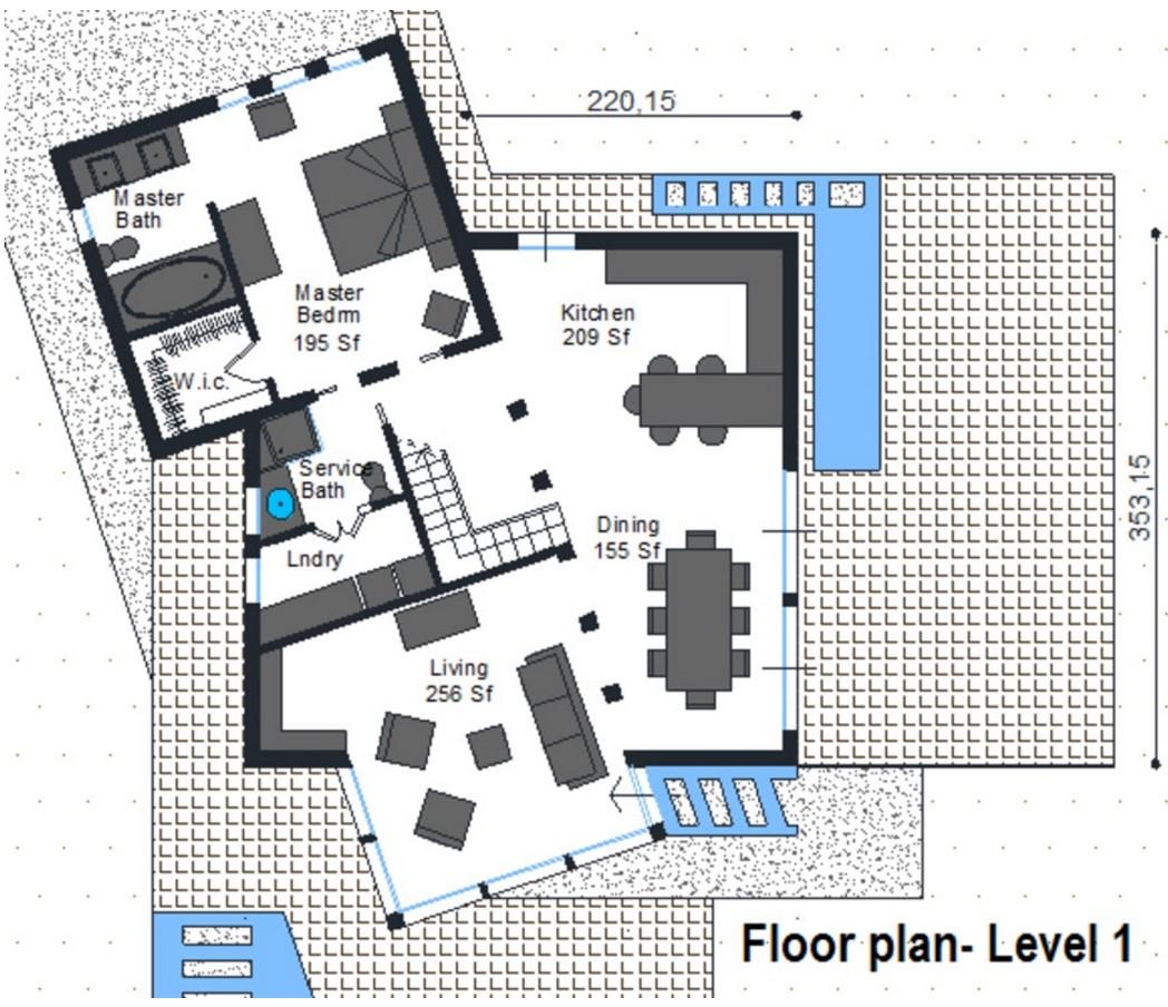planos de casa irregulares